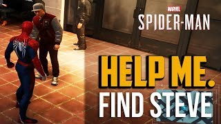 Spiderman PS4: Where to find Student Steve Location (Over His Head Mission)