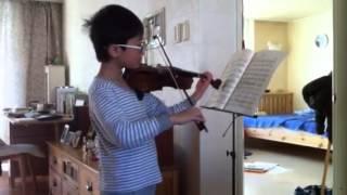 김민준 바이올린 보케리니 미뉴엣