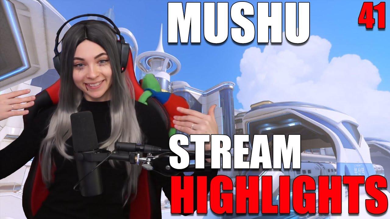 Mushu - MUSHU STREAM HIGHLIGHTS #41 | Overwatch
