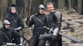 "King Arthur Legend of the Sword Movie Clip ""Both Hands"" - Charlie Hunnam & David Beckham"