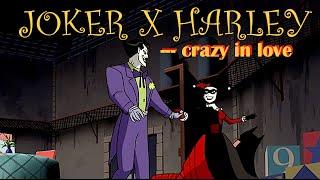 ❥ Crazy in love -♦- Joker x Harley