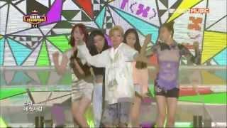 130814 Show Champion - f(x) 첫 사랑니