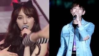 Seventeen Joshua, Pristin Minkyung Look Alike?