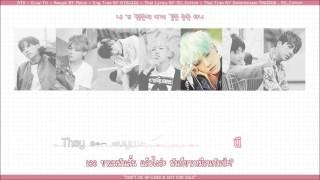 [Karaoke Thaisub] BTS (방탄소년단) - 뱁새 (Crow Tit)
