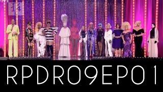 RuPaul's Drag Race Season 09 Episode 1 | Revisión | PAM SASHAA | DRAG QUEEN | ♛ |