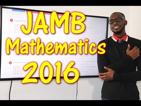 JAMB CBT Mathematics 2016 Past Questions 1 - 15