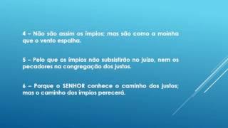 VERSÍCULOS BÍBLICOS SALMO 1