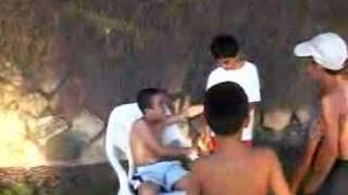 Machol boys being wild