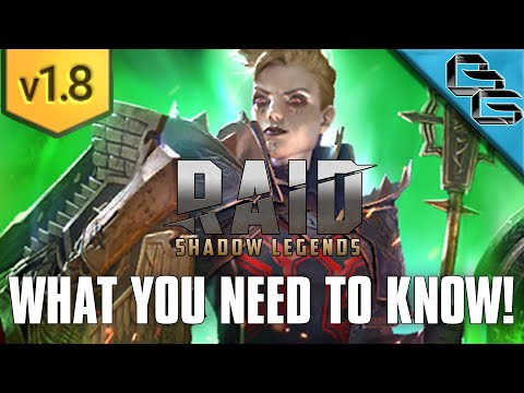 RAID: Shadow Legends | PATCH 1.8 IS HERE!!! | EVERYTHING YOU NEED TO KNOW IN 5 MIN!!!