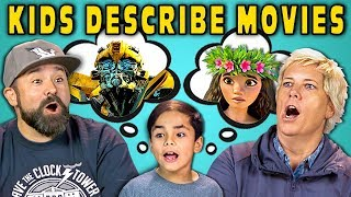 CAN PARENTS GUESS MOVIES DESCRIBED BY KIDS? (React) width=