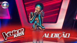 Franciele Fernanda canta 'Maria, Maria' na Audição – The Voice Kids Brasil | 2ª Temporada