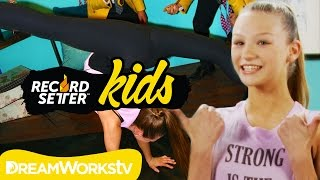 Autumn Miller's Extreme Back Walkover Challenge | RECORDSETTER KIDS