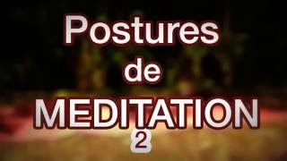 La méditation assise sur un coussin