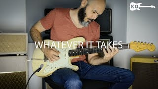 Imagine Dragons - Whatever It Takes - Electric Guitar Cover by Kfir Ochaion