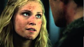 "Bellarke Scenes (76) ""you did good here, bellamy"" [THE 100 S01E13]"
