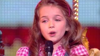 "Erza, 8 years old, sings ""La vie en rose"" by Edith Piaf - Final 2014 - France's Got Talent 2014"