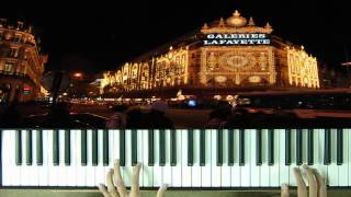Les Champs Elysees Piano Tutorial How to play on Piano