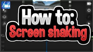 How to: screen shaking effect (power director editing tutorial)