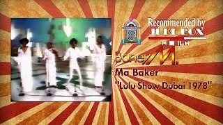 Boney M. Ma Baker (Rare Performance in Dubai 1978)