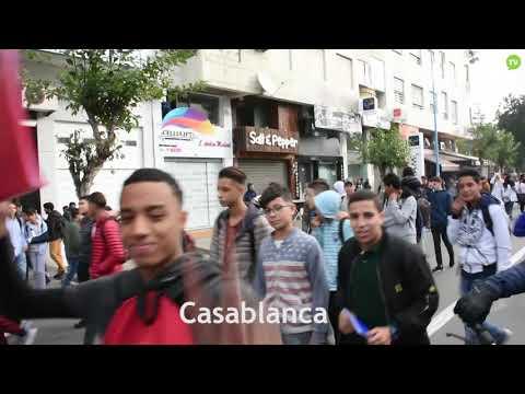 Video : Les étudiants manifestent contre le maintien du GMT+1