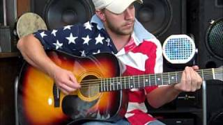 Courtesy of the Red, White, and Blue - Toby Keith (Acoustic Cover by Matt Brewster)