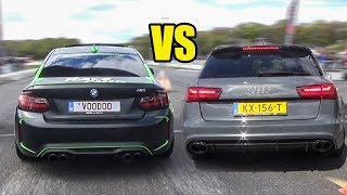 BMW M2 vs Mercedes C63 AMG vs RS6 - DRAG RACE!