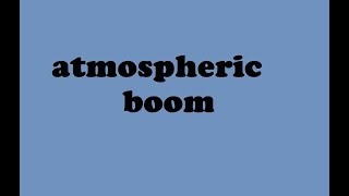 atmospheric boom sound effect free download