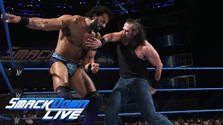 Luke Harper vs. Jinder Mahal: SmackDown LIVE, June 20, 2017