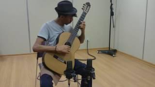 Junior Oliveira - Gravação Prelúdio BWV 999 - Johan Sebastian Bach -Oficina de Violão Sesc Glória