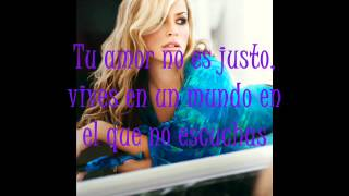 Anastacia - Sick and Tired (Subtitulada en Español)