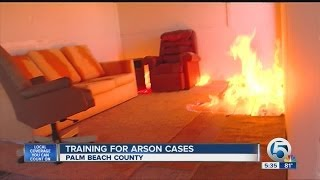 Training for arson cases