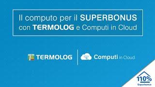 Il computo per il SUPERBONUS con TERMOLOG