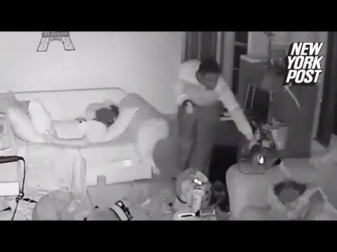 Un jaf care se desfasoara in timp ce copiii dormeau