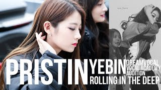 Rolling in The Deep (Adele) - PRISTIN Rena Dreamvocal Vocal Academy Audition