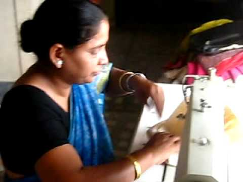 Sewing at the Fair Trade Workshop