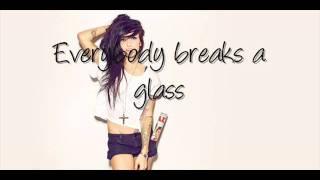 Everybody Breaks A Glass - LIGHTS Ft. Holy F**k & Shad LYRICS