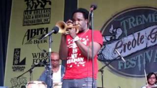 Shamarr Allen - Crazy - Treme Gumbo Fest