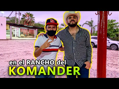 🇲🇽en el rancho del KOMANDER y la historia de sus canciones😱