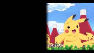 (Pokemon Xy&Z pikachu song) Pikachu no uta (fan made video)