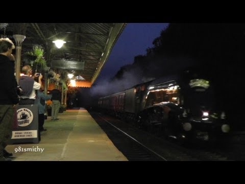 A4 60009 on The Scarborough Flyer on Fri 7th Sept 2012.