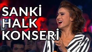 Yıldız Tilbe Yine Coşturdu - Yürü Anca Gidersin | O Ses Türkiye