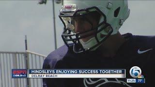 Hindsleys enjoying success together at American Heritage