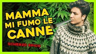 SCHERZO A MIA MADRE / mi fumo le canne !  - Alessio Aprea