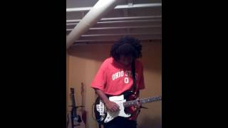 Cameo's Candy Guitar Solo.Cover