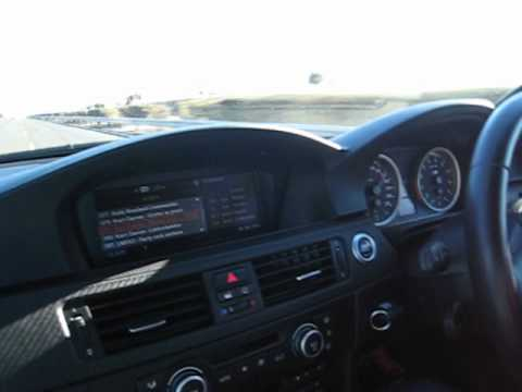 BMW M3 driving fast (270+) in South-Africa