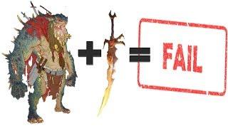 Throgg + Sword of Khaine = CAMPAIGN FAIL