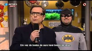 """António Sala nova versão """"Velhos Amigos"""" - Nuno Markl - 5 Para a Meia Noite"""