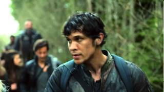 "Bellarke Scenes (123) ""i can't lose you too okay?"" [THE 100 S02E09]"