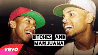 Bitches N Marijuana Chris Brown ft Tyga (Sped up)