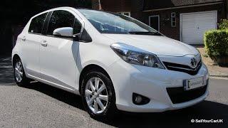 SOLD - 2012 Toyota Yaris 1.3 VVT-i CVT Mutidrive-S T Spirit, 1 Owner, Warranty & Service Incl